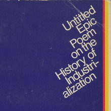 <cite>Untitled Epic Poem on the History of Industrialization</cite> by R. Buckminster Fuller
