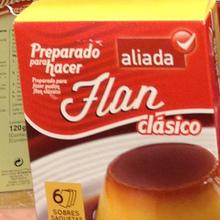 Aliada Flan and Gelatina
