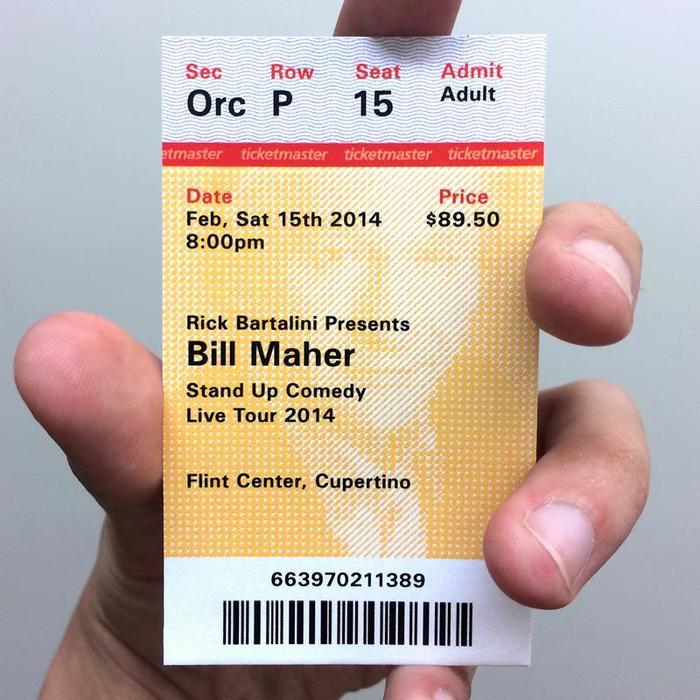 Ticketmaster Ticket Redesign Proposal 4