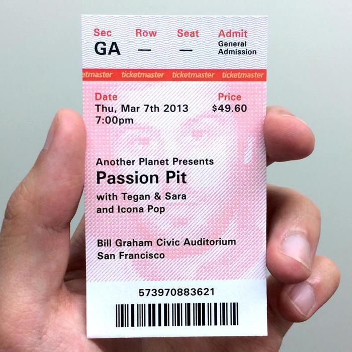 Ticketmaster Ticket Redesign Proposal 5