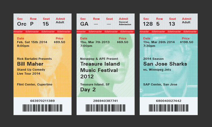 Ticketmaster Ticket Redesign Proposal 9