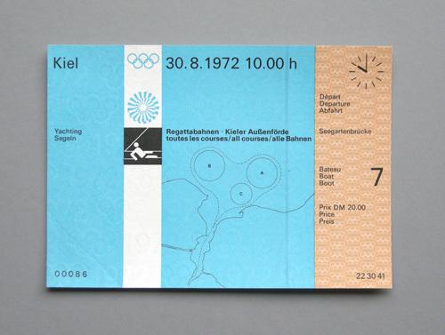 1972 Munich Olympics tickets 5