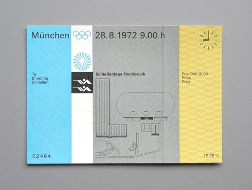 1972 Munich Olympics tickets 6