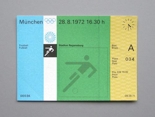 1972 Munich Olympics tickets 7