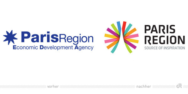 Paris Region Logo & Corporate Design 2