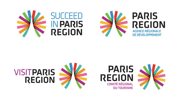 Paris Region Logo & Corporate Design 3