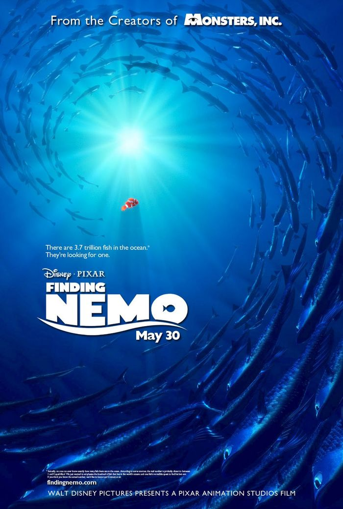 Finding Nemo logo and posters 2