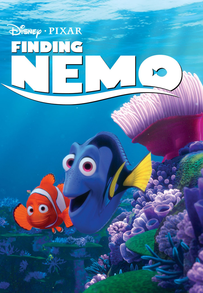 Finding Nemo logo and posters 4