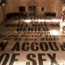 The 19th Amendment at Grand Central Terminal