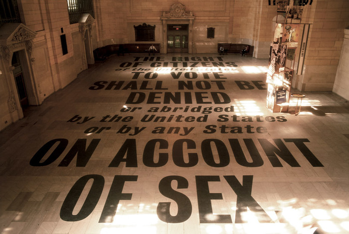 The 19th Amendment at Grand Central Terminal 1