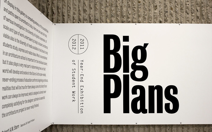 Big Plans exhibition design 4