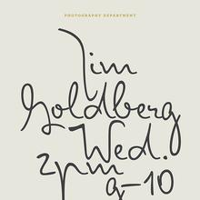 Jim Goldberg poster
