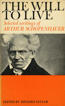 <cite>The Will to Live: Selected writings of Arthur Schopenhauer</cite>