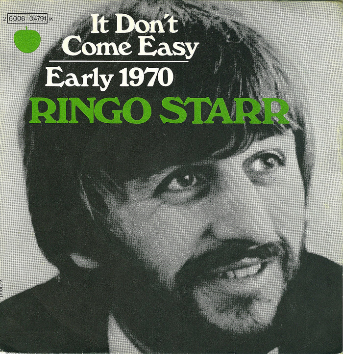 """""""It Don't Come Easy"""" – Ringo Starr (France)"""