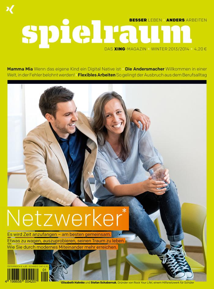 spielraum. Das XING-Magazin, Winter 2013/2014