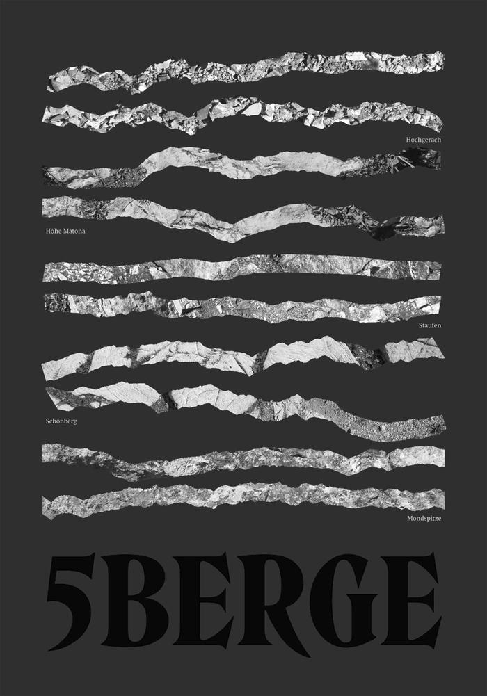 5Berge Poster Series 1