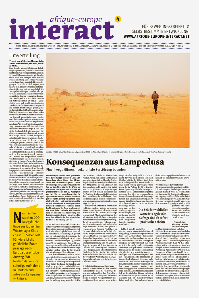 afrique-europe-interact Newspaper, Issue 4 1