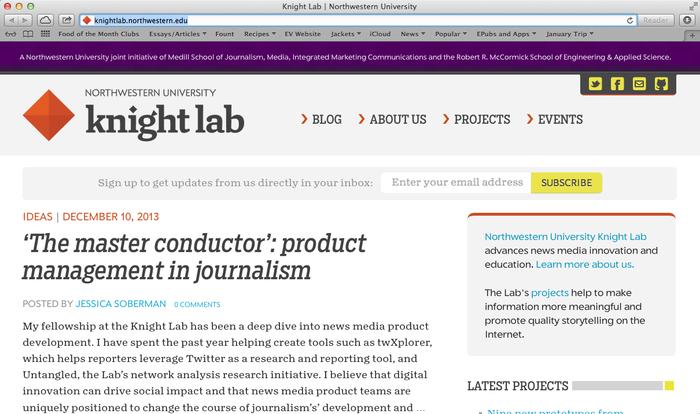 Northwestern University Knight Lab website 1