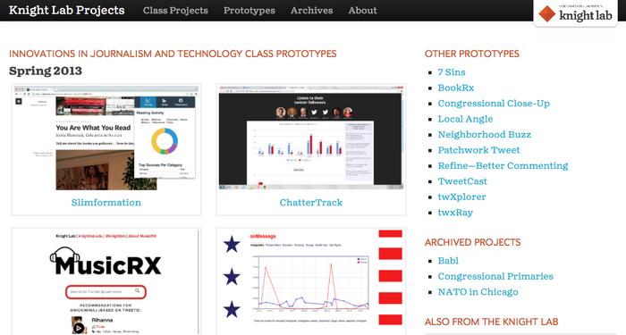 Northwestern University Knight Lab website 2