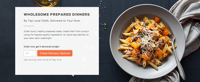 Munchery Website 2