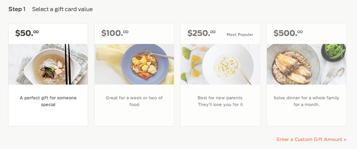 Munchery Website 3