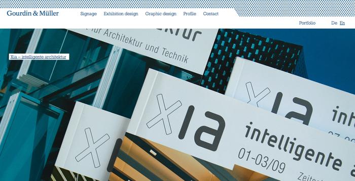Gourdin & Müller Website 1