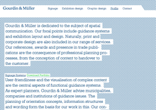 Gourdin & Müller Website