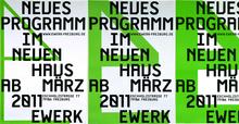 E-Werk Freiburg Posters