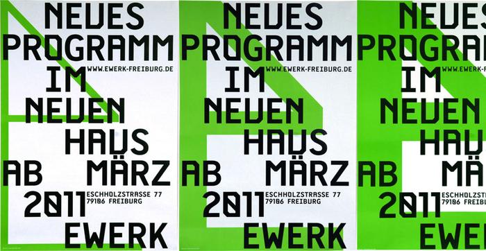 E-Werk Freiburg Posters 1