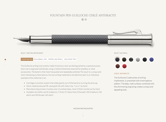 Faber Castell website 2