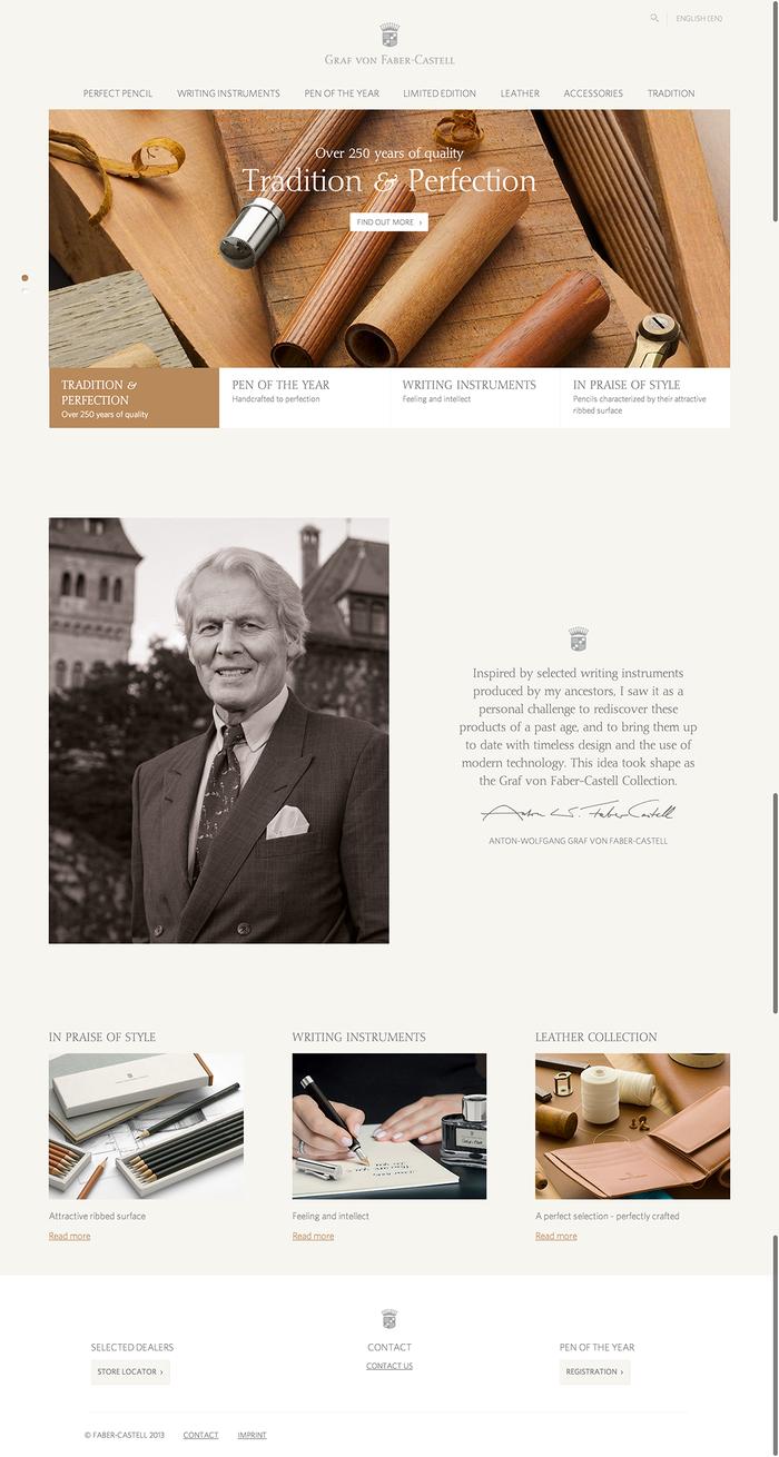 Faber Castell website 4