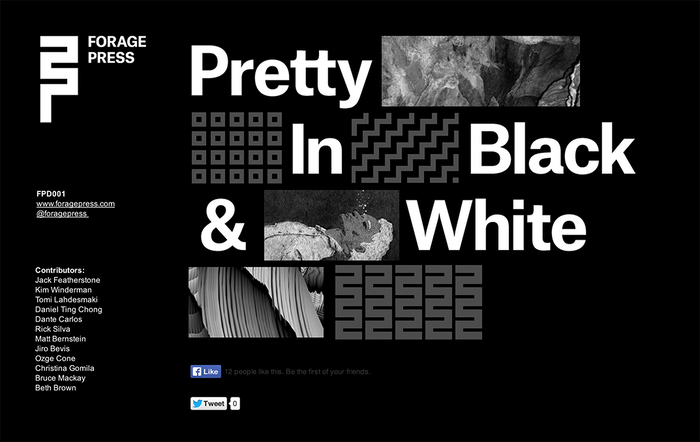 FPD001: Pretty In Black & White 1