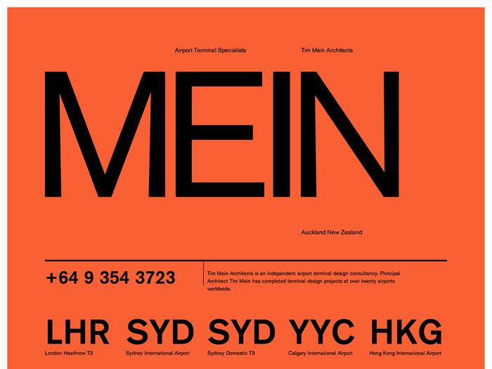 Tim Mein Architects website 1
