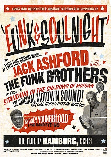 Funk & Soul Night concert posters 2