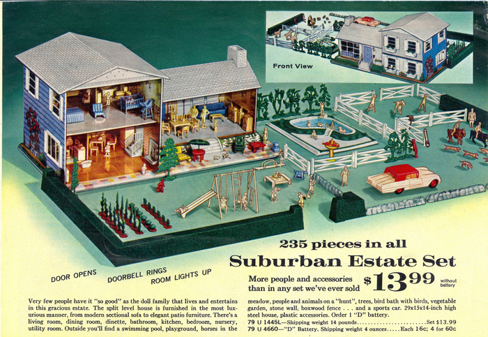 "Dollhouse: ""Suburban Estate Set"""