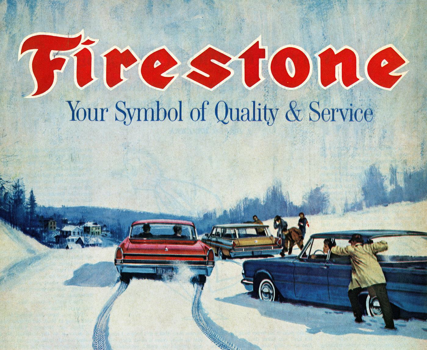 Firestone logo - Fonts In Use
