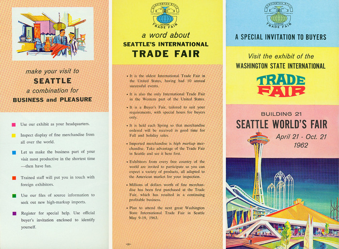 Washington State International Trade Fair at the Seattle World's Fair 2