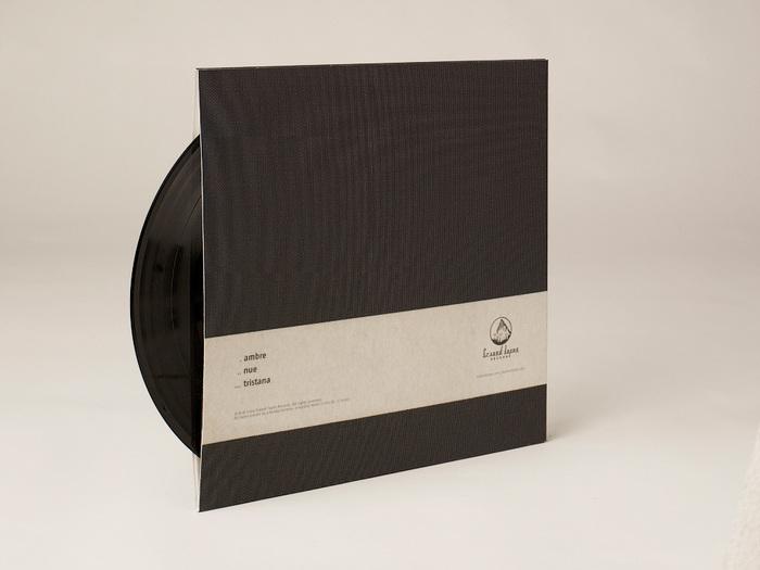 Rear of 12-inch vinyl