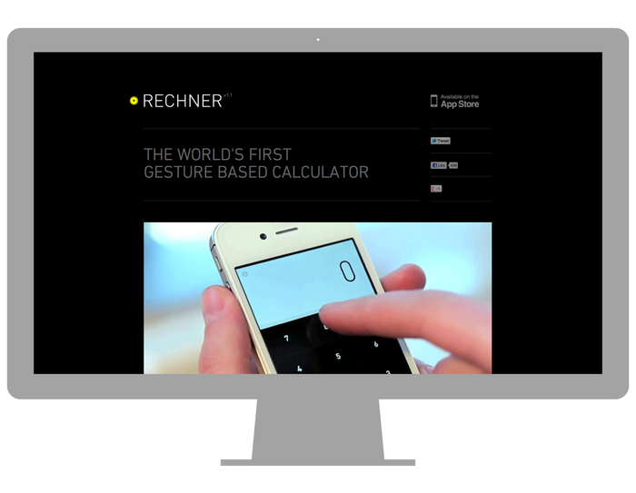Rechner app and website 3