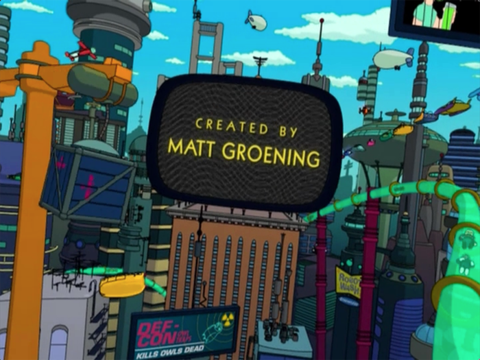 Futurama Opening Title Sequence 2