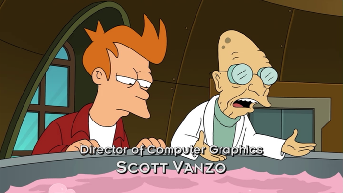 Futurama Opening Title Sequence 5