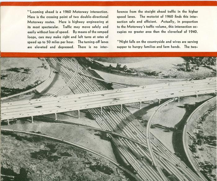 Futurama: Highways and Horizons Exhibit Brochure 1