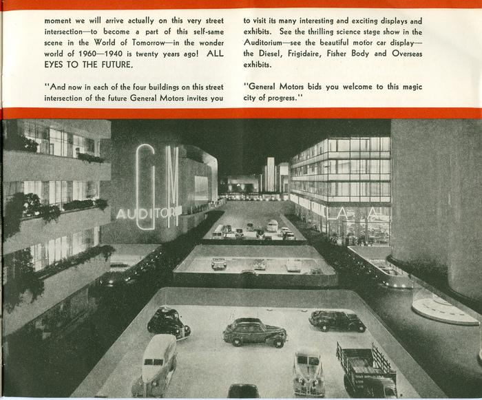 Futurama: Highways and Horizons Exhibit Brochure 5