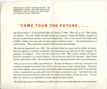 <cite>Futurama: Highways and Horizons</cite> Exhibit Brochure