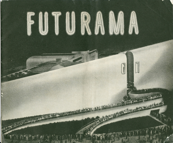 Futurama: Highways and Horizons Exhibit Brochure 7