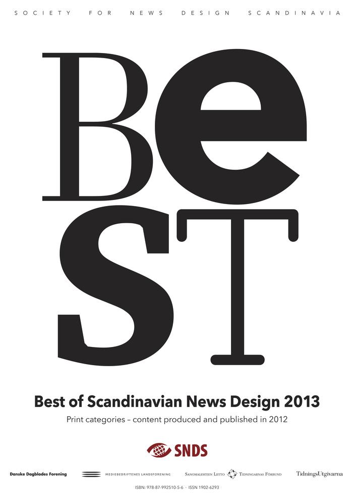 Best of Scandinavian News Design Catalog 1