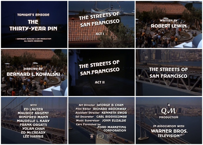 The Streets of San Francisco Titles 1