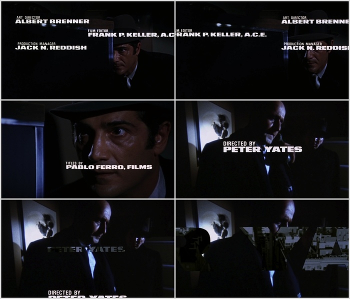 Bullitt Opening Title Sequence 1