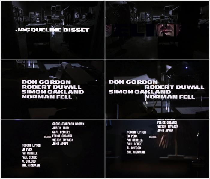 Bullitt Opening Title Sequence 2
