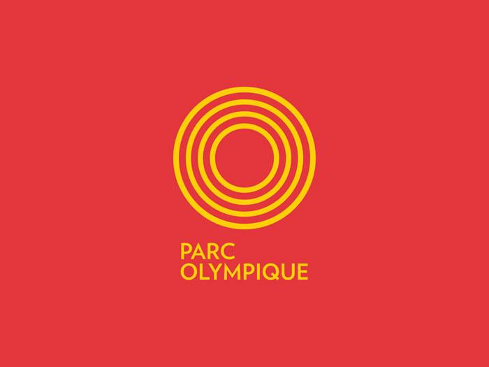 Parc Olympique de Montréal branding 1